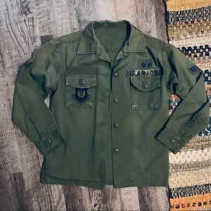 Authentic Air Force European Military Shirt Jacket